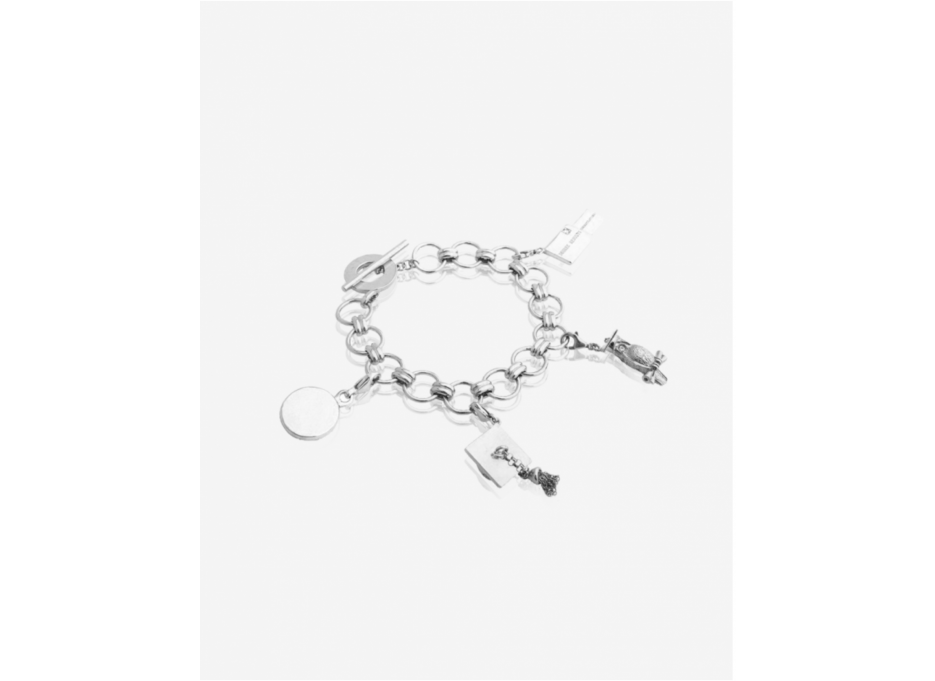 Bracelet #7 Black Rhodium Light